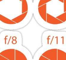 F-Stops-Orange Sticker