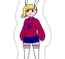 Fionna Pixel Sticker Sticker