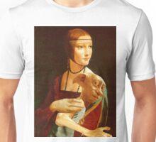 Lady With Dobby Unisex T-Shirt