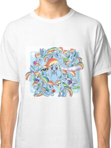 Every Rainbow Dash EVER Classic T-Shirt