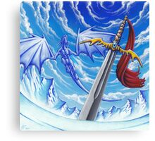 Dragon's Sword Canvas Print