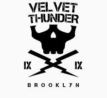 Velvet Thunder Club Black Text. Unisex T-Shirt