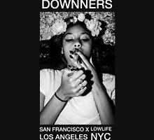 Flowers & Cigarettes Pastel Dark Grunge Tee (Downners) Unisex T-Shirt