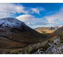Wasdale Valley Panorama Sticker
