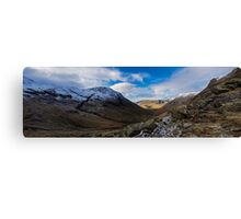 Wasdale Valley Panorama Canvas Print