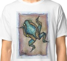 aceo blue frog Classic T-Shirt