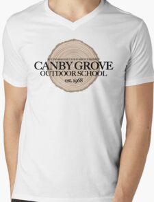 Canby Grove Outdoor School (fcb) Mens V-Neck T-Shirt