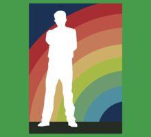 big gay rainbow Baby Tee