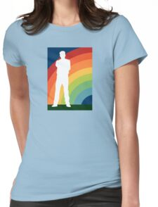 big gay rainbow Womens Fitted T-Shirt