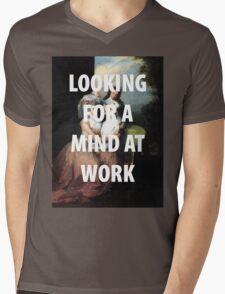A MIND AT WORK Mens V-Neck T-Shirt