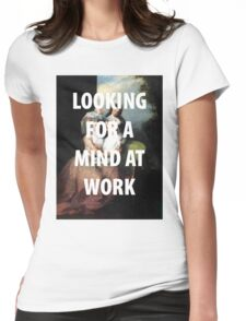 A MIND AT WORK Womens Fitted T-Shirt