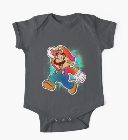 Mario Wahoo One Piece - Short Sleeve