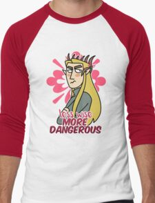 Less Wise Men's Baseball ¾ T-Shirt