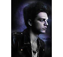 Bucky in Moonlight Photographic Print