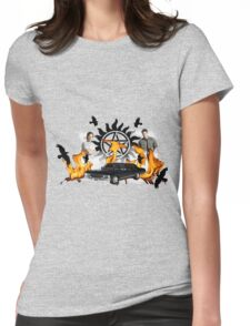 supernatural 10 Womens Fitted T-Shirt