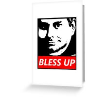 OBEY H3H3 Bless Up Greeting Card