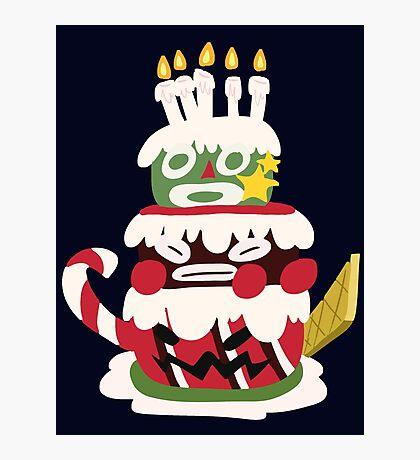 Bundt - SMRPG Cake Photographic Print