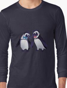 Dapper Penguins Long Sleeve T-Shirt