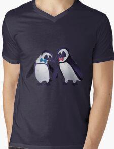 Dapper Penguins Mens V-Neck T-Shirt