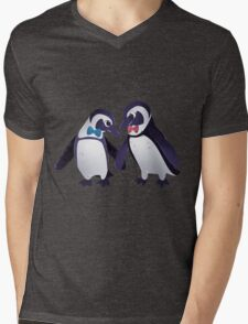 Dapper Penguins Mens V-Neck T-Shirt