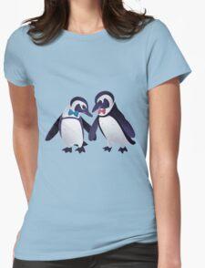 Dapper Penguins Womens Fitted T-Shirt
