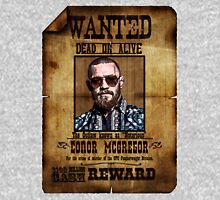 """Conor McGregor WANTED """"Notorious"""" UFC MMA Unisex T-Shirt"""