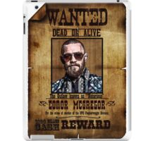 """Conor McGregor WANTED """"Notorious"""" UFC MMA iPad Case/Skin"""