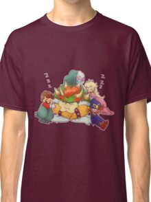 Bowser Mario Mallow Peach and Geno Classic T-Shirt