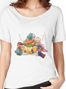 Bowser Mario Mallow Peach and Geno Women's Relaxed Fit T-Shirt