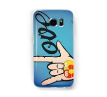 Love Sign Language Art Samsung Galaxy Case/Skin