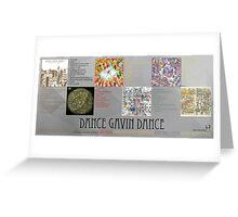 Dance Gavin Dance Discography  Greeting Card