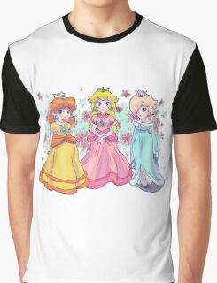 Princess Peach, Daisy and Rosalina Graphic T-Shirt