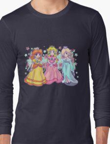 Princess Peach, Daisy and Rosalina Long Sleeve T-Shirt