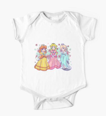 Princess Peach, Daisy and Rosalina One Piece - Short Sleeve