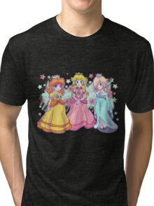 Princess Peach, Daisy and Rosalina Tri-blend T-Shirt