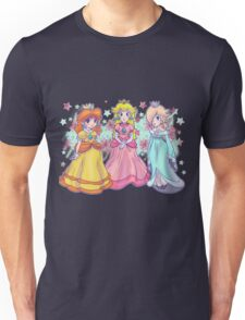 Princess Peach, Daisy and Rosalina Unisex T-Shirt