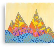 Geo Mtn Series 001 Canvas Print