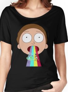Morty  Rainbow Women's Relaxed Fit T-Shirt