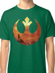 Star Wars VII - BB8 & Rey Classic T-Shirt