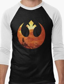 Star Wars VII - BB8 & Rey Men's Baseball ¾ T-Shirt