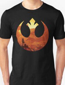 Star Wars VII - BB8 & Rey Unisex T-Shirt