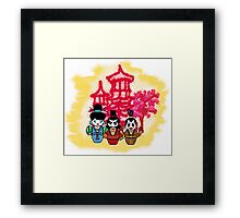 Chien po Ling and Yao Mamiji  Framed Print