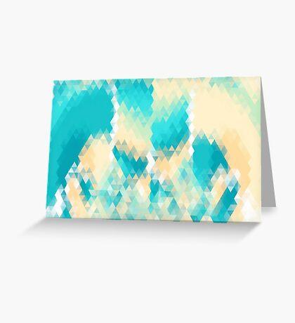 Geometric Archipelago Greeting Card