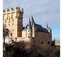 SEGOVIA CASTLE Photographic Print