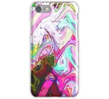 Mint Lilac Chip Choc Cream Waves iPhone Case/Skin