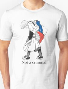 Mosher - Stop Criminalization of the Homeless (1) T-Shirt