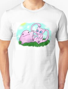 mew and ditto Unisex T-Shirt