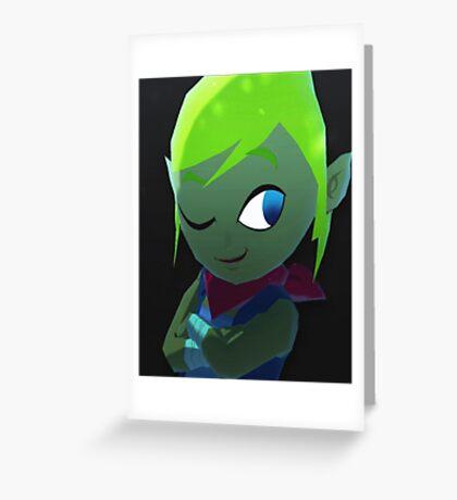 Leafyishere Hissssss Greeting Card