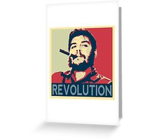 Che Geuvara Revolution Greeting Card