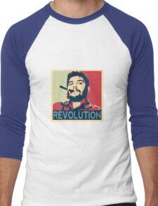 Che Geuvara Revolution Men's Baseball ¾ T-Shirt